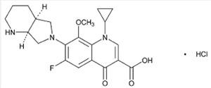 Moxifloxacin Hydrochloride IP / EP / USP Manufacturers and Suppliers