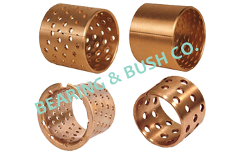 Wrapped Bronze Bushes