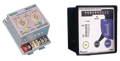Earth Leakage Relays and Timers