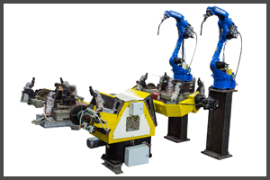 Robotic Mig Welding Line for  Rear Twist Beam