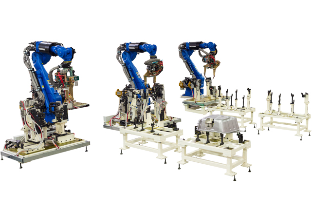 Robotic Spot Welding Line for Wheel Arch