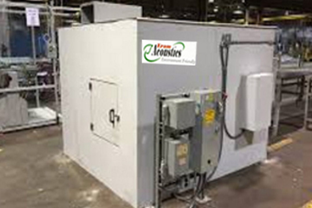 Acoustic Enclosure For Chiller
