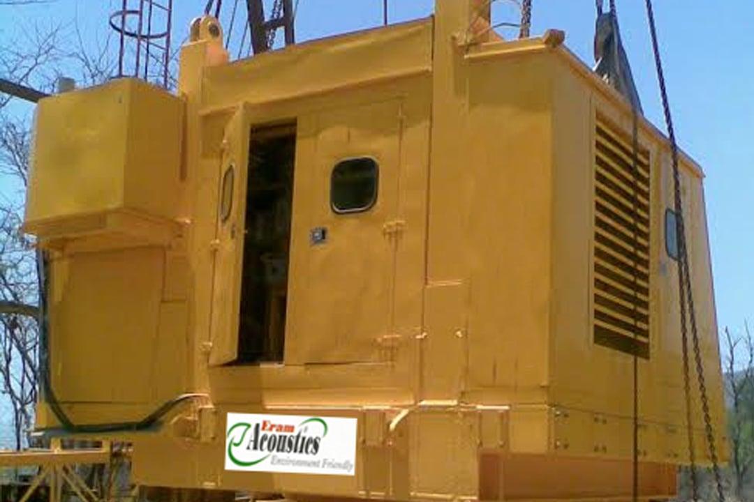 Sound Proof Enclosure For Crane