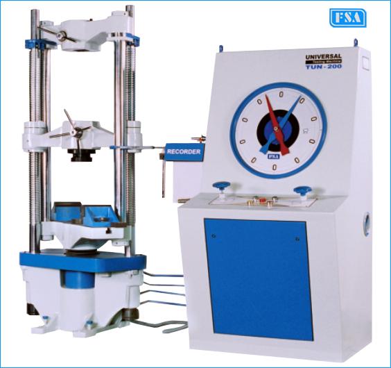 Analogue Universal Testing Machines ( Model : TUN )