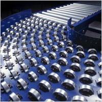 Gravity Roller Conveyors in Mild Steel & PU Roller