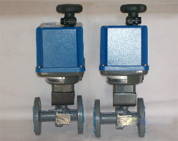Pneumatic Actuated Ball Valves
