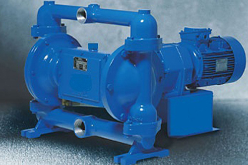 ELECTRO MECHANICAL DOUBLE DIAPHRAGM PUMPS