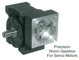 Precision Worm Gearbox For Servo Motors