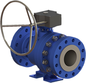 Piece Floating Flange Ball Valve