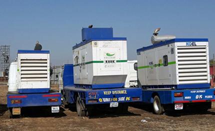 Emergency Standby Diesel Generators Hire / Rental Services