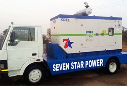 GENSETS ON HIRE