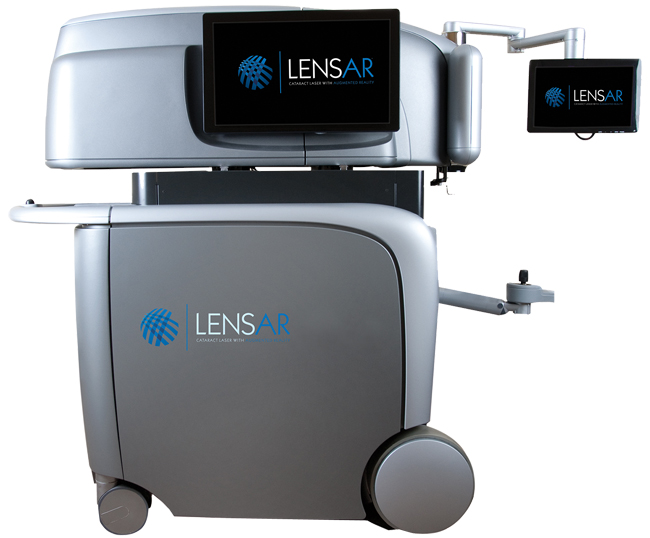 LENSAR - Cataract Laser with Augmented reality
